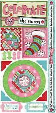 Bo Bunny CELEBRATE Cardstock Stickers