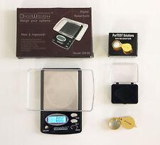 SPECIAL SALE - 1000 gr .DIGITAL SCALE -  NEW 30X JEWELERS LOOP GRAM CARAT GRAIN