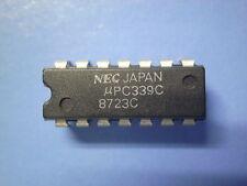µPC339C  LOW POWER QUAD COMPARATOR NEC
