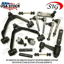 14pc JPN Suspension Upper Arms Pitman Tie Rods for Ford Expedition 4WD 99-02