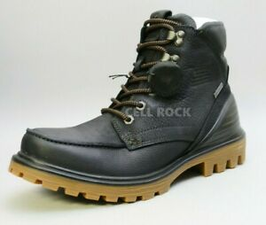 Ecco Men's BOOTS Waterproof Tredtray Retro Hiking Boot BLACK 13-13.5