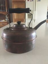 Vintage Copper Kettle Tea Coffee Pot Made In England