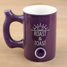 Premium Purple  Roast and Toast stoner girl Coffee Tea Cocoa beer  Pipe Mug
