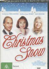 DVD Christmas Snow Katherine Helmond Melissa Joan Hart 1986 Xmas Family R4 BNS