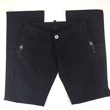DSQUARED2 Pants Size 42 Womens European Pants Black Charm Embellishments US 6