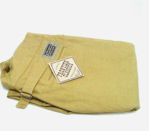 Old West trousers Frontier Classics pants Wheat cotton V notch back sz 34 to 54