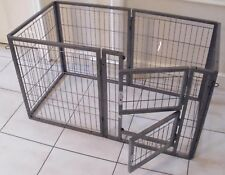 MargoTheDog Puppy Play Pen Dog Cage Whelping Pen 120x60cm - Modular Pen System