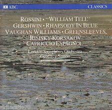 GEOFFREY SIMON Conducts Rossini/Gershwin/Rimsky-Korsakov CD