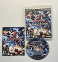 Dynasty Warriors: Gundam 3 (Sony PlayStation 3, 2011) COMPLETE FAST SHIP!! PS3