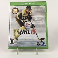 NHL 15 (Microsoft Xbox One) No Manual - A10