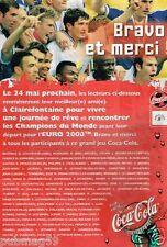 Publicité Advertising 2000 Coca Cola