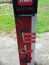 new Toro 14in weed eater trimmer edger Electric 5 amp motor yard work