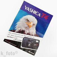 Yashica T4 Prospekt