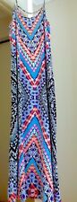 Jay Jay's Colourful Maxi Dress adjustable straps.  Exc Condition.