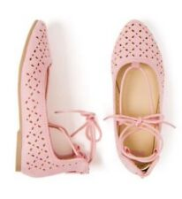 Gymboree Nwt Girls Camp Must Have Pink Lace Up Shoes Girls Size 12