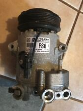 2013 Chevy Cruze Air Conditioning Compressor