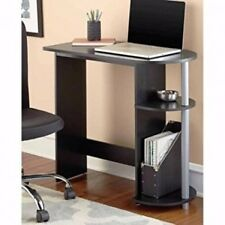 NEW Small Computer Desk Table Side Storage Compact Space Saver Kids Workstation