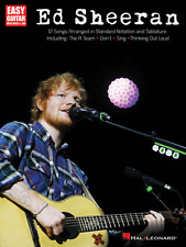 ED SHEERAN-EASY GUITAR W/NOTES & TAB MUSIC BOOK BRAND NEW ON SALE SONGBOOK!!