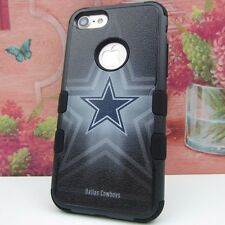 for Apple iPhone 7 Impact Armor Rugged Cover Case Dallas Cowboys #JY