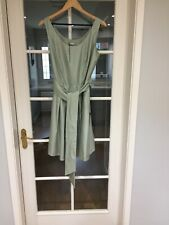 M & S Collection Mint Green Occasion Dress Size 14 New With Tags Belted
