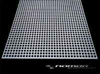 Lochblech Qg 10-15 Edelstahl V2A Quadratlochblech Blank 1,5 mm Stärke nach Maß
