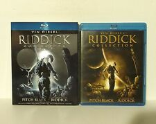 Riddick Collection (Blu-ray Disc, 3-Disc Slipcover The Chronicles of Pitch Black