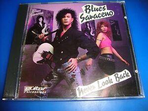 BLUES SARACENO cd NEVER LOOK BACK poison free US shipping
