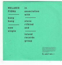 (FL737) Melanie Fiona, Bang Bang - 2009 DJ CD
