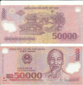Vietnam / Viet Nam - 50000 Dong 2003-2019