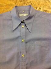 woman's BEN SHERMAN Small Purple Short Sleeve Shirt. Superb