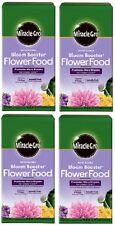 4 ea Miracle Gro 146002 4 lb Bloom Booster 10-52-10 Flower Food / Fertilizer
