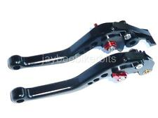 SUZUKI GSF600  GSF650 600 SHORT BLACK BRAKE CLUTCH LEVERS ROAD RACE R13A4