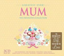Various Artists - Greatest Ever Mum (The Definitive Collection, 2014) 3xCD New