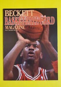 LOT OF 4 VINTAGE NBA ABA BASKETBALL MAGAZINES - MICHAEL JORDAN BECKETT #1 / DR J