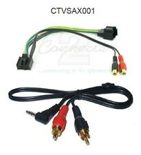 Connects2 CTVSAX001 Aux Input MP3 iPod iPhone 3.5mm Jack Saab 9-3 9.3 2006 on