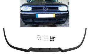 VW Golf MK4 4 IV Front Bumper Cup Chin Spoiler Lip Splitter Valance + Screws