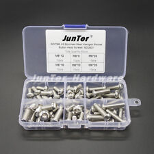 60pcs M6(6mm) A2 Stainless Steel Button Head Hex Socket Screws NO.2552