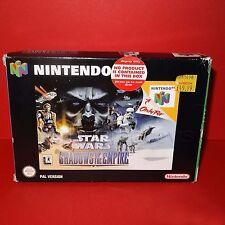 VINTAGE 1996 NINTENDO 64 N64 STAR WARS OMBRE DELL' IMPERO CARTUCCIA GIOCO