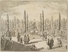 CHODOWIECKI (1726-1801). Die Gleichheit aller Stände im Grabe; Druckgraphik