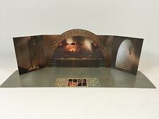 custom vintage star wars rotj jabba the hutt throne room diorama large backdrop