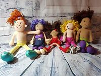 Groovy Girls Solana + 4 other Toy Dolls  Good Condition