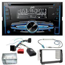 JVC KW-R520 Autoradio CD USB MP3 AUX Einbauset für Kia Venga