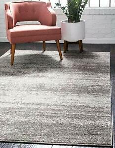 Unique Loom Del Mar Collection Area Rug- Modern Transitional Inspired Tonal D...