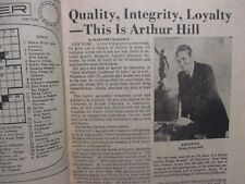 May 28, 1972 Lancaster Pa TV Week Magazine(JOHNNY  CASH/ARTHUR HILL/OPRYLAND USA
