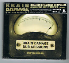 BRAIN DAMAGE DUB SESSIONS - WHAT YOU GONNA DO ? - CD 12 TITRES - 2012 - NEUF NEW