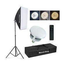 �Upgrade Led】 Mountdog Softbox Lighting Kit Photography Studio Light with 19.