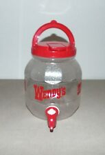 WENDY'S COCA-COLA CLASSIC JUG PITCHER