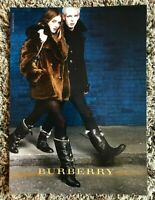 2009 Vogue Magazine Art Advert Ad Picture Burberry Rosie Huntington-Whiteley