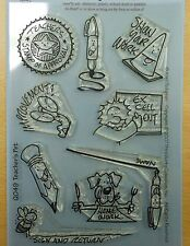 Teachers Pet Clear Art Stamps