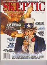 SKEPTIC MAGAZINE Vol.18 #1 2013, SPECIAL SECTION ON GUN CONTROL.